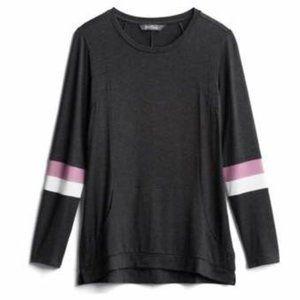 Black - Pink & White Kangaroo Pouch Soft Top NWT
